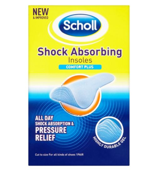 Scholl Shock Absorbing Insoles Comfort Plus (1 Pair)