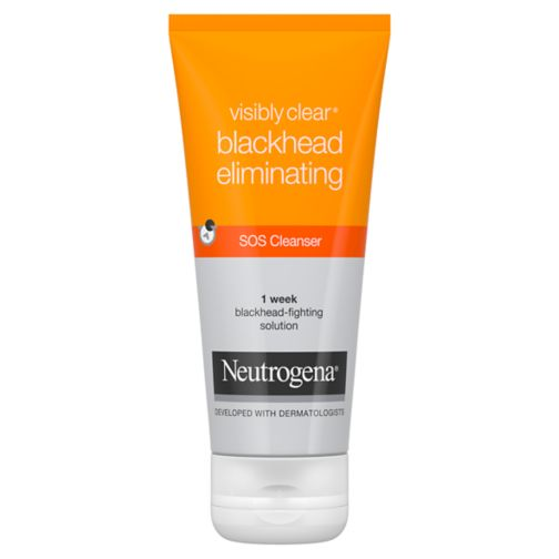 Neutrogena Visibly Clear Blackhead Eliminating SOS Cleanser 100ml