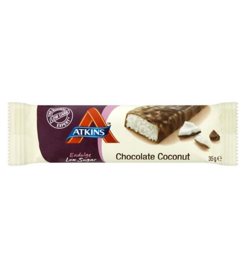 Atkins Endulge Chocolate Coconut Bar with sweetener - 35g