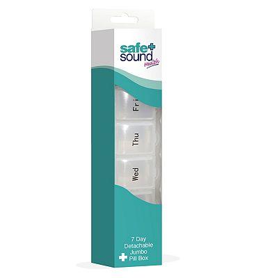 Safe & Sound Detachable Jumbo Pill Box