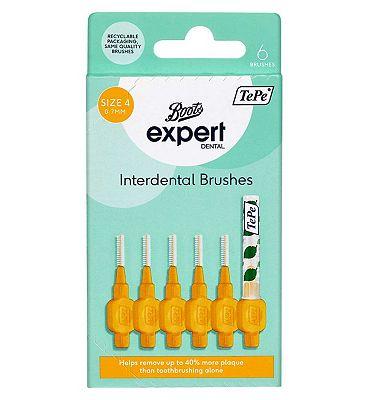 Boots Expert TePe 0.7mm Interdental Brush 6s