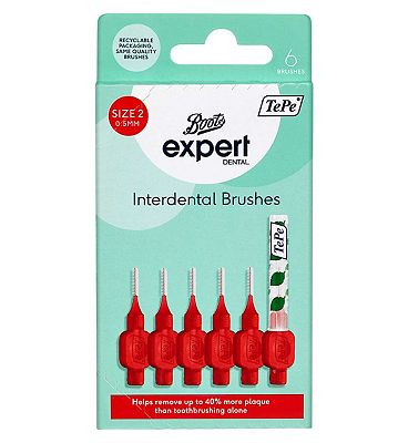 Boots Expert TePe 0.5mm Interdental Brushes 6s