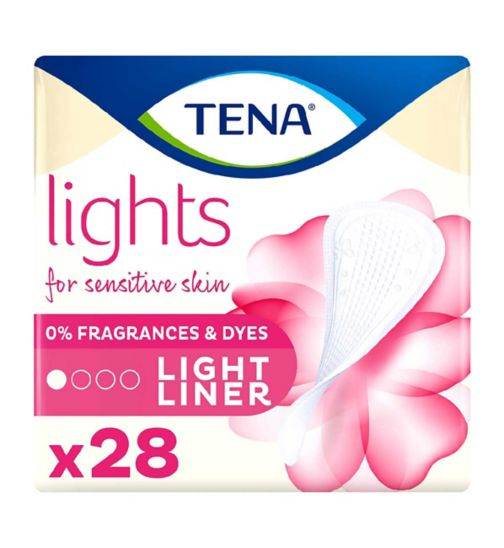 lights by TENA Light Liners 28