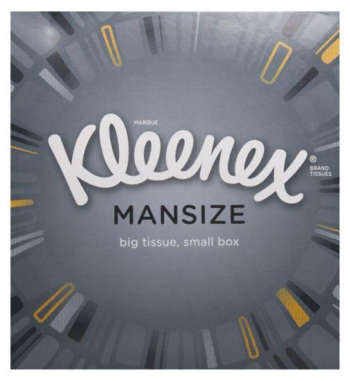 Kleenex Mansize Compact Tissues 2 packs