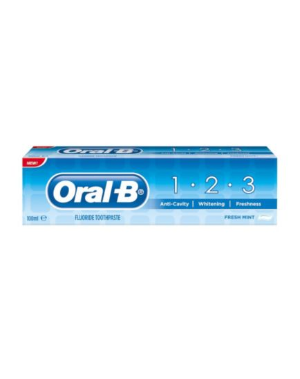 Oral-B 1-2-3 Toothpaste 100ml