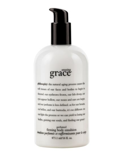philosophy amazing grace perfumed firming body emulsion 480ml