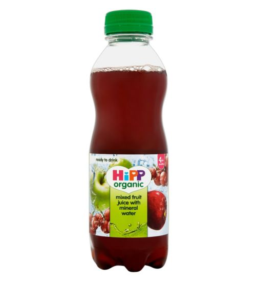 HiPP Organic Mixed Fruit Juice with Mineral Water 4+ Months 500ml