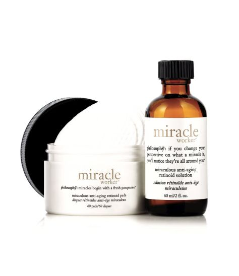 philosophy miracle worker miraculous anti-ageing retinoid pads - 60 pads