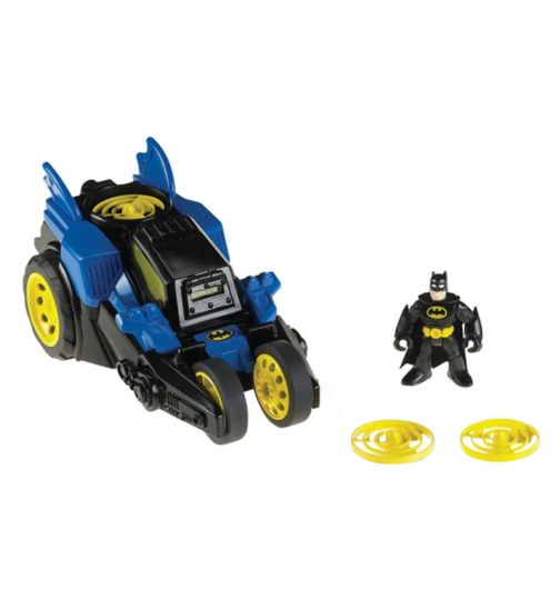 Fisher Price Imaginext DC Super Friends Motorised Batmobile