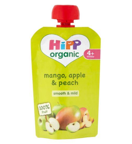 HiPP Organic Mango, Apple & Peach 4+ Months 100g