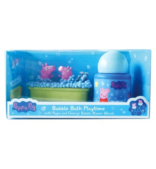 Peppa Bubble Bath Playtime Set