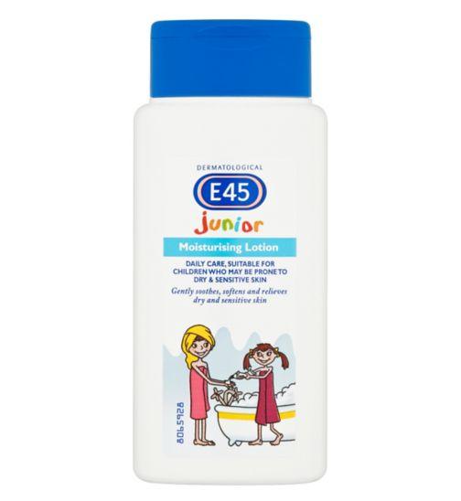 E45 Junior Moisturising Lotion for Dry Skin & Sensitive Skin - 200ml