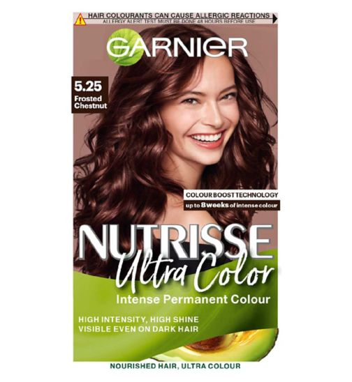 Garnier Nutrisse 5.25 Ultra Chestnut Brown Permanent Hair Dye
