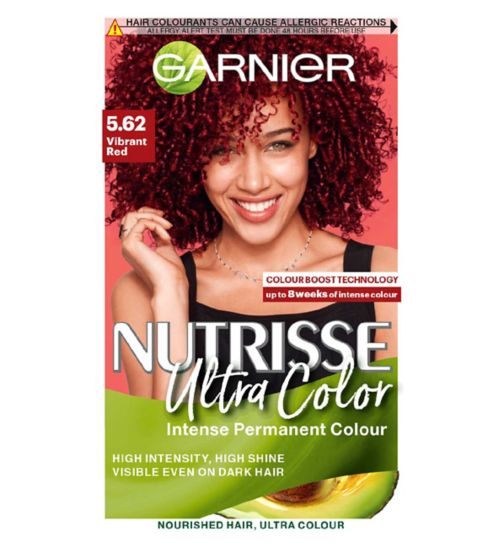 Garnier Nutrisse 5.62 Ultra Vibrant Red Permanent Hair Dye