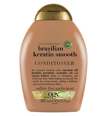 OGX Ever Straight Brazilian Keratin Therapy Conditioner 385ml