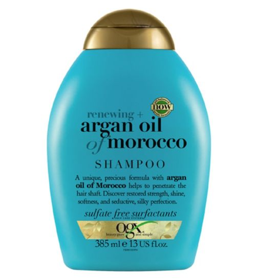 OGX Renewing Moroccan Argan Oil Shampoo 385ml