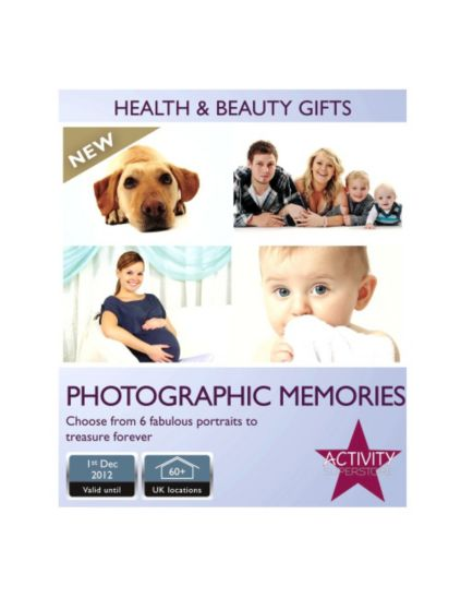 Activity Superstore -  Photographic Memories Gift Card