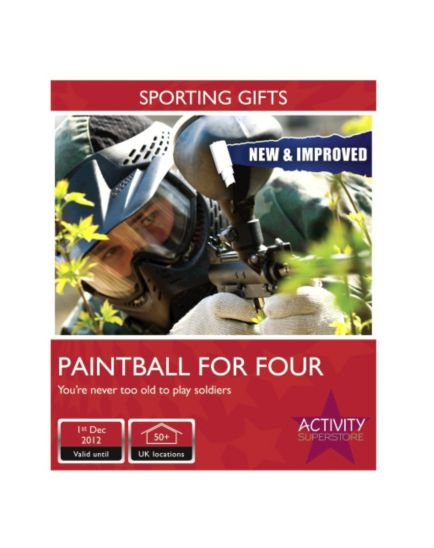 Activity Superstore - Paintball for Four