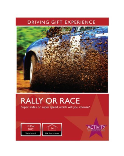 Activity Superstore - Rally Rush or Race