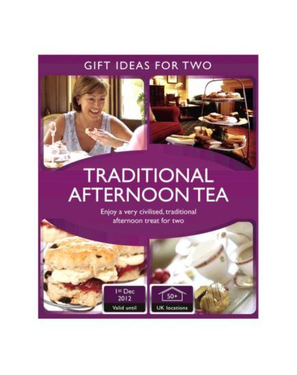 Activity Superstore - Traditional Afternoon Tea