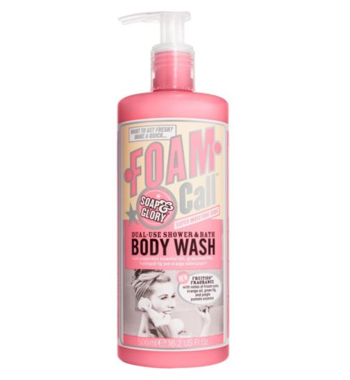 Soap & Glory™ Foam Call™ Bath and Shower Wash 500ml