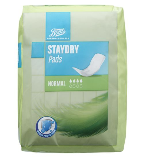 Boots Staydry Normal Pads - 12 Pads