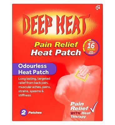 Deep Heat patch twin pack