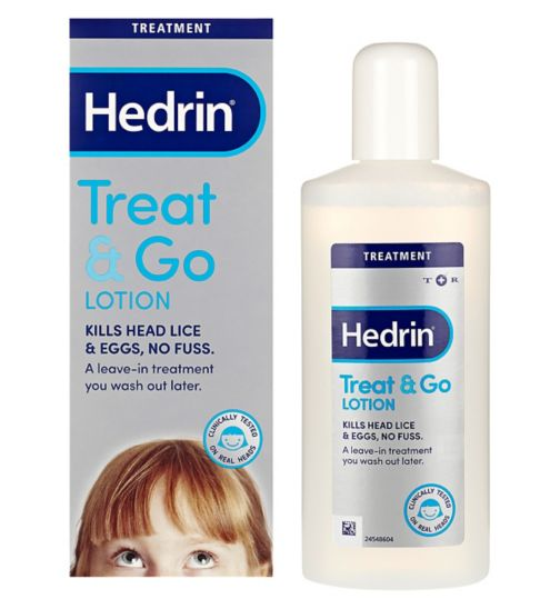 Hedrin Treat & Go lotion 250ml