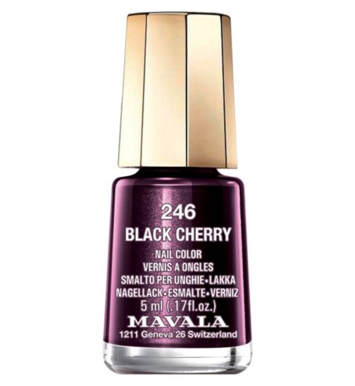 Mavala Mini Colour - Black Cherry (5ml)
