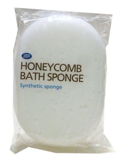 Boots White Honeycomb Sponge