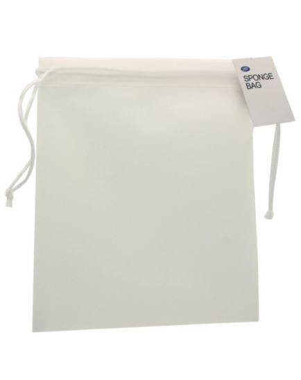 Boots White Plastic Sponge Bag