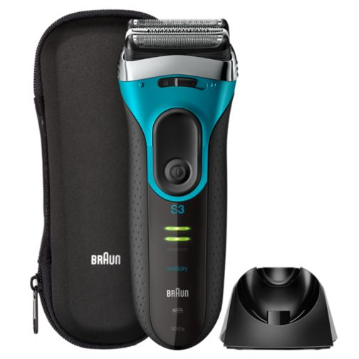 Braun Series 3 ProSkin 3080s Rechargeable Wet&Dry Electric Shaver plus charging stand