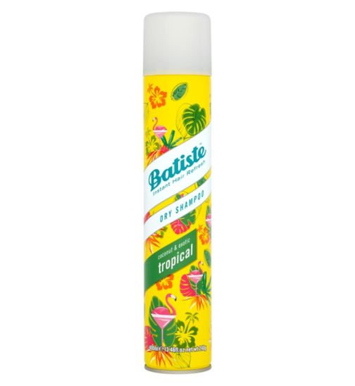 Batiste Dry Shampoo Tropical - Coconut & Exotic 400ml