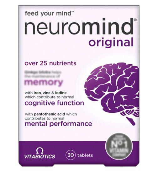 Vitabiotics Neurozan - 30 Tablets