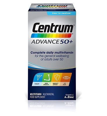 Centrum Advance 50+ - 180 tablets