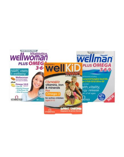 Vitabiotics Well Family pack - 3 months supply