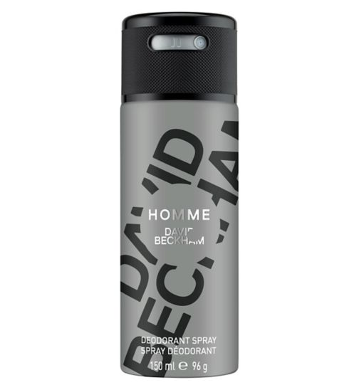 Homme Body Spray 150ml for Men by David Beckham