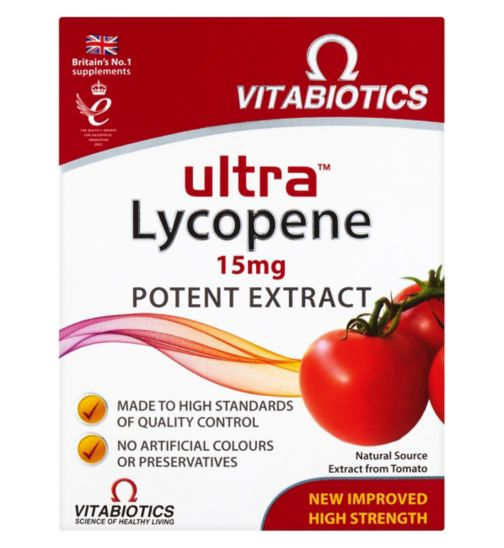 Vitabiotics Ultra Lycopene - 30 Tablets