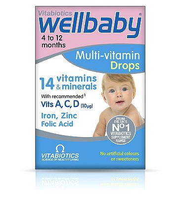 Vitabiotics Wellbaby Drops 30ml