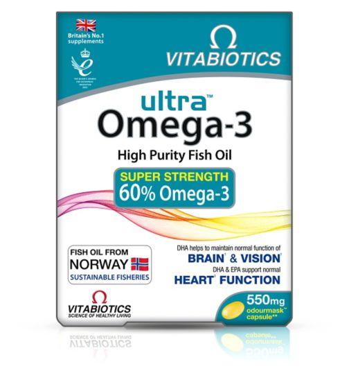 ultra Omega-3 Capsules - 60 Capsules