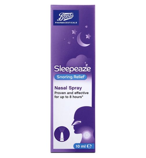 Boots Sleepeaze Snoring Nasal Spray (10ml)