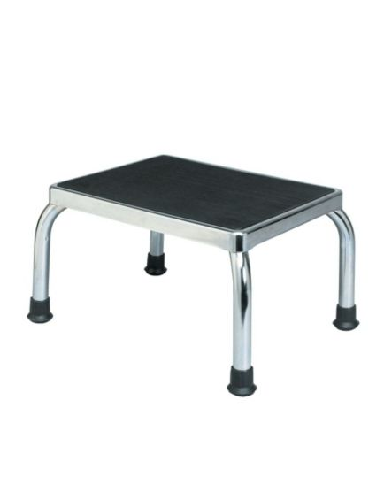 Homecraft Step Stool Chrome Without Handrail