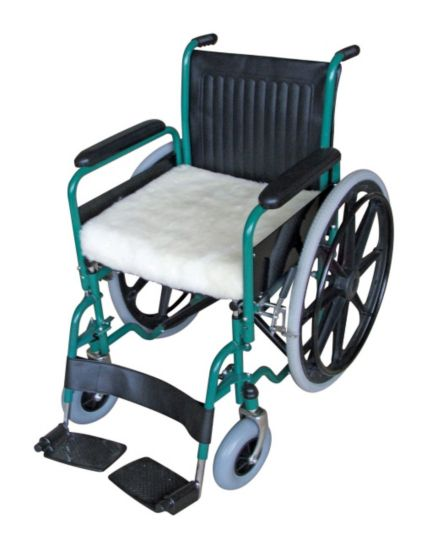Homecraft Wheelchair Cushion Luxury Fleece - width 45.7cm