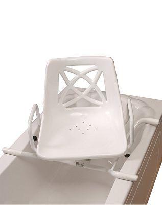 Bath Seat Aluminium Swivelling
