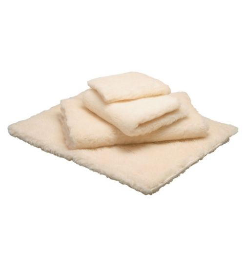 Homecraft Bed Fleece - single fitted with straps 92 X 152cm
