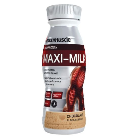 Maximuscle Maxi-Milk  Chocolate with sweetener - 330ml