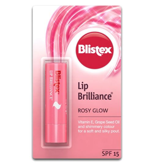 Blistex Lip Brilliance Blushing SPF15 3.7g