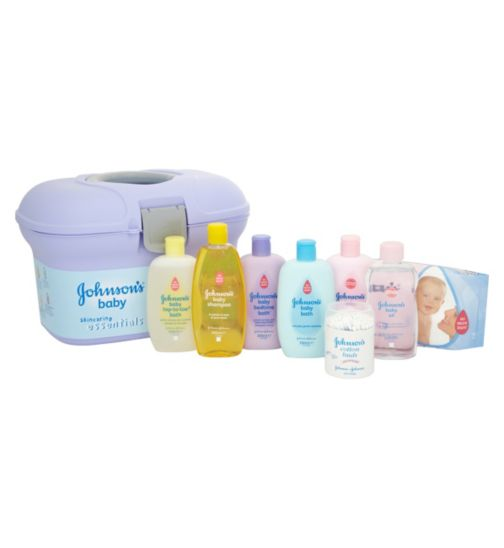 Johnson s baby skincare essentials gift set life style.
