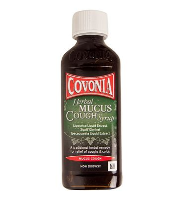 Covonia Herbal Mucus Cough Syrup - 150ml