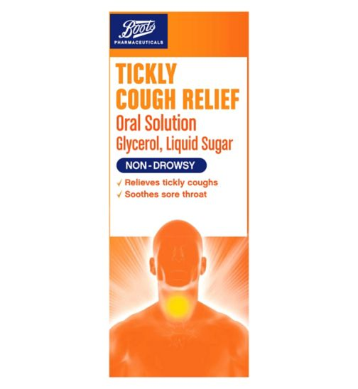 Boots Tickly Cough Relief Oral Solution - 150ml